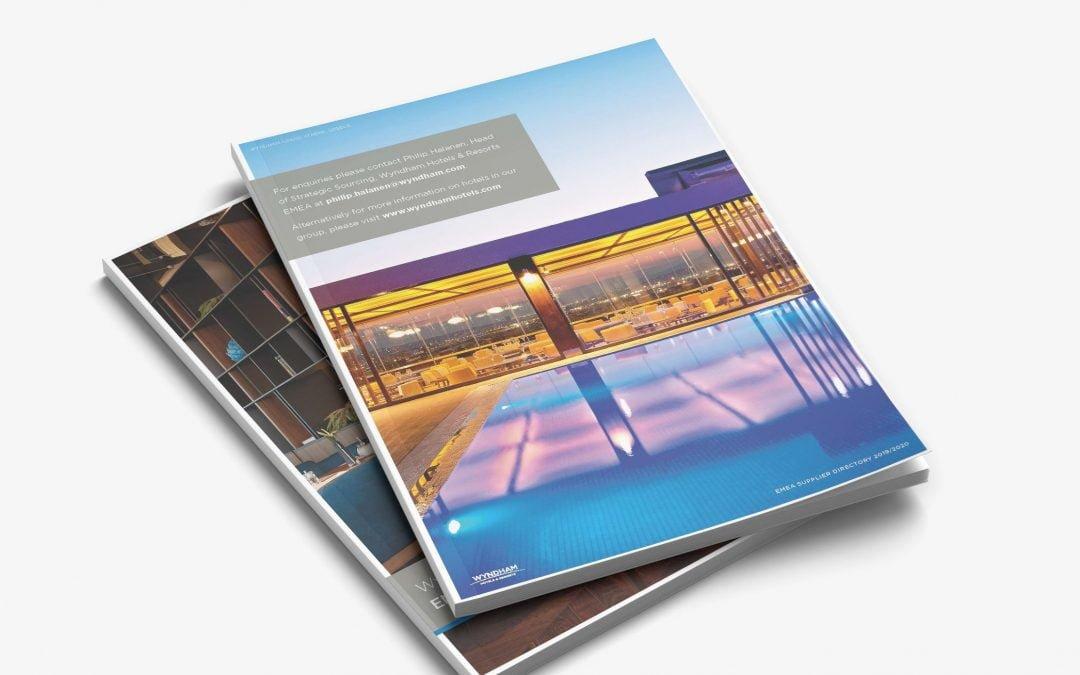 Wyndham Hotels – EMEA Brochure design