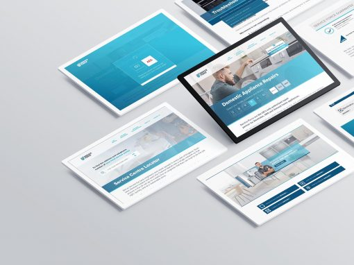 Service Force | Website UX and UI