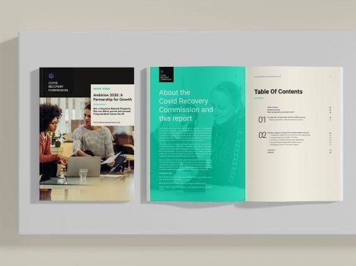 Ambition 2030 | Bespoke Report Design