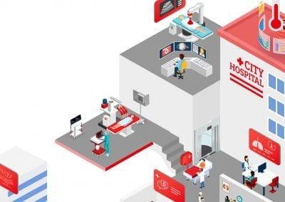 Vodafone 5G Health Infographic